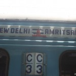 Amritsar로 가는 기차