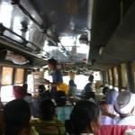 Amritsar에서 파키스탄 국경으로 가는 버스